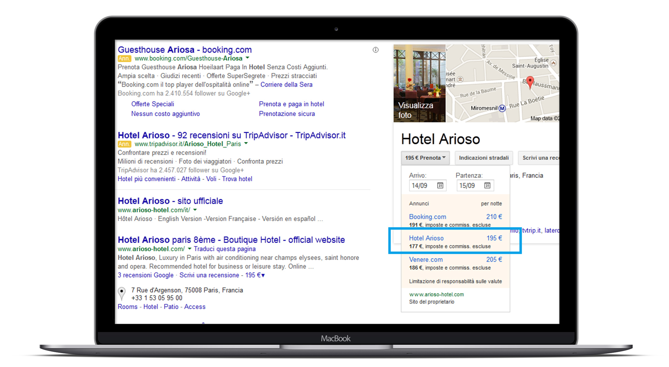 Channel Manager Google Hotel Finder